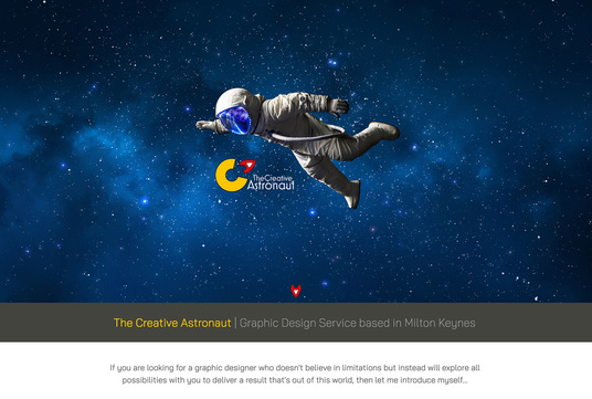 Example Website, Creative Astronaut
