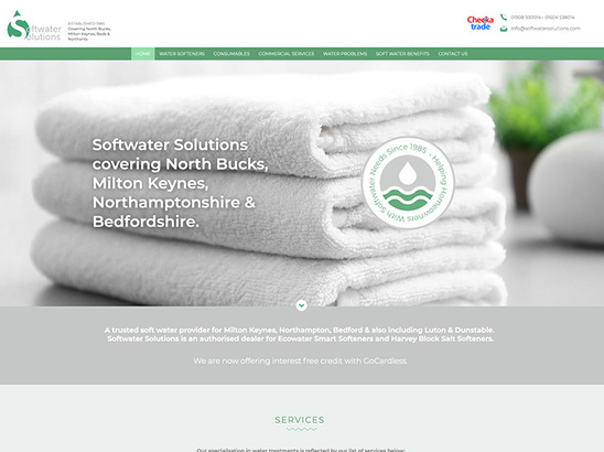 Example Website, Softwater Solutions
