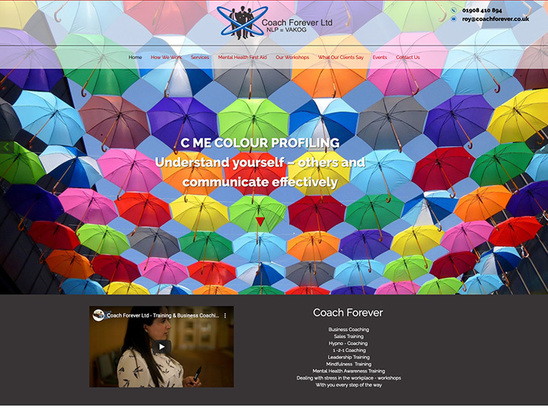 Example Website, Coach Forever Ltd