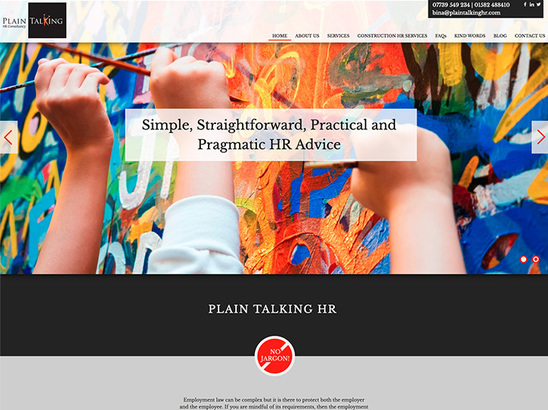 Example Website, Plain Talking HR