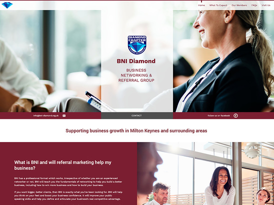 Example Website, BNI Diamond
