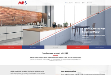 Example Website, MBS Works, Transform Your Property