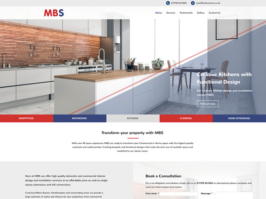 Example Website, MB Services