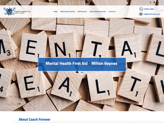 Example Website, Mental Health First Aid Milton Keynes